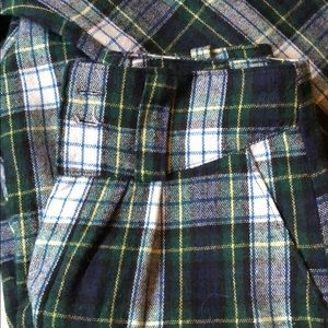 Vintage High waisted wool trouser